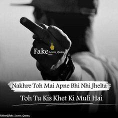 {TOP} dhansu boys attitude status in hindi, badmash boy attitude status in hindi Attitude Thoughts, Attitude Quotes For Boys, Positive Attitude Quotes, True Feelings Quotes, Funny True Quotes, Good Thoughts Quotes, Reality Quotes, Cute Love Quotes, Bad Boy Quotes
