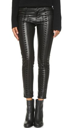 1fb9feaaefca online shopping for Blank Denim Vegan Leather Embroidered Skinny Pants from  top store. See new offer for Blank Denim Vegan Leather Embroidered Skinny  Pants