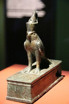 Statuette d'Horus de Bouto. Bronze. Basse Époque.