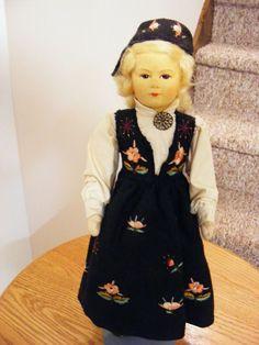 "Rare 12 1/4"" Norway Ronnaug Petterssen Gudbrandsdalen Girl Org Costume Tag 1940 Girls Dresses, Flower Girl Dresses, The Collector, Norway, Charlotte, Costume, Wedding Dresses, Shopping, Ebay"