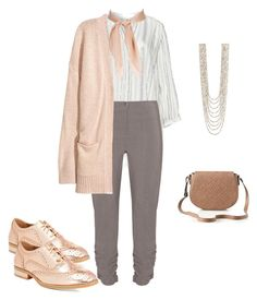 """""""Professional Relaxed"""" by bobi-ezell on Polyvore featuring Zizzi, Jennifer Bryde, Wanted and Spring Street"""