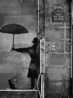 Rue du chat qui peche - Paris