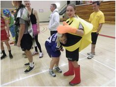 Costume Phyiscal Training is the perfect way to celebrate Halloween