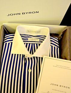 John Byron Custom Shirting