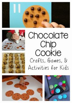 Chocolate Chip Cookie Themed Activities, Crafts, and Ideas for Kids from Still Playing School