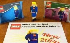 Il migliore CV? Manda in azienda una miniatura di te stesso con i mattoncini LEGO! #cv #curriculum #modelli #creativi #job