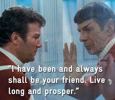 Remembering Spock's Wit & Wisdom in 17 Pictures Spock Quotes, Star Trek Quotes, Star Trek Characters, Star Trek Movies, Star Wars, Star Trek Tos, Captain Kirk Quotes, Spock And Kirk, Star Trek Images