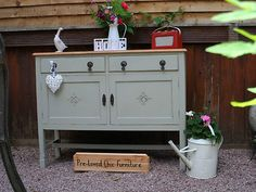 Dining room sideboard - shabby chic