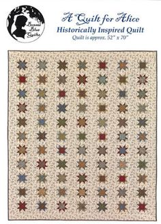 Barbara Brackmans MATERIAL CULTURE: Speaking of Shirtings - A Quilt for Alice -- so pretty!