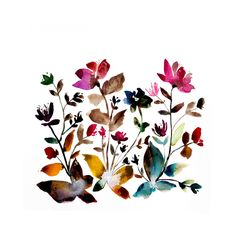 island wildflowers no.6 Wall Art Prints