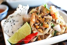Gỏi Mít Trộn (Vietnamese Young Jackfruit Salad) « The Culinary Chronicles