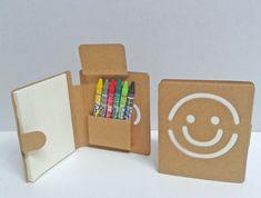 Libreta smile con 6 ceras colores [06-31580] - 0.60€ : Cosas43.es