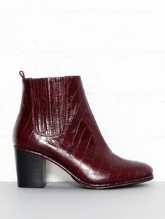 7e622c12f6aba6 Opening Ceremony Embossed Brenda Ankle Boots  style Opening Ceremony Shoes