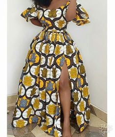 2020 African Print Design: Beautiful Styles To Try Out This Christmas - - 2020 African Print Design Hi Lovely Ladies, Today we are presenting you with African dress styles and like most women want to look smart with Africa outfit s. African Fashion Ankara, Latest African Fashion Dresses, African Style Clothing, African Fashion Designers, African Print Fashion, Clothing Styles, Look Fashion, Fashion Models, Tribal Fashion