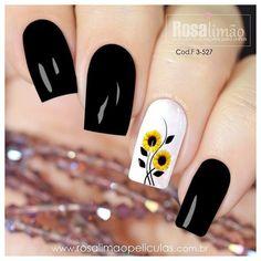 Black Nail Designs, Simple Nail Designs, Acrylic Nail Designs, Nail Designs Spring, Stylish Nails, Trendy Nails, Cute Nails, Pink Nails, Gel Nails