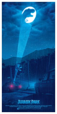 Jurassic World Park, Jurassic Park Poster, Jurassic Park 1993, Michael Crichton, Jurrassic Park, Park Art, Jurassic Movies, Films Cinema, I Love Cinema