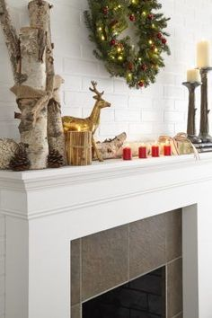 Painting a Brick Fireplace