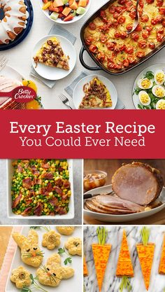 Find every recipe for every sized table in this collection of Easter sides, mains, desserts, and sweet and savory casseroles.