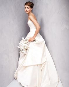 The top wedding dress cuts, styled in two different ways