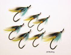 Blue Charm, Salmon Flies, Salmon Fishing, Fly Tying, Fly Fishing, Charmed, Pattern, Ideas, Salmon