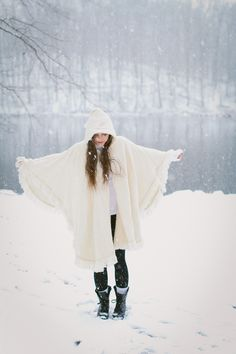 Winter Fashion Shoot In The Snow - see more at http://fabyoubliss.com