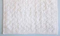 Basket Weave Baby Blanket Pattern | AllFreeKnitting.com