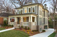 'Drewry Street residence.' Thrive Homes, home builders, Atlanta, GA.