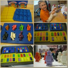 Running away? I'll help you pack.: Lego Party–Part 2 (Lego Crayons, Lego Chocolates & Cupcakes)