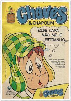 Chaves e Chapolin em Quadrinhos #nostalgia