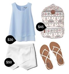 """""""My First Polyvore Outfit"""" by french-fashion13 ❤ liked on Polyvore featuring Uniqlo, Abercrombie & Fitch and Billabong"""