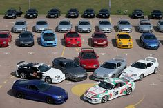 20th anniversary celebration of the Toyota Supra MkIV - Toyota UK Flickr