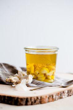 Garlic Confit and Homemade Garlic Oil. So versatile!
