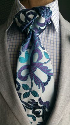 The Watson 7 Fold Tie - The Corvan Collection www.thecorvancollection.com