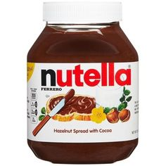Turn a balanced breakfast into a tasty one. Spread Nutella on multigrain toast, add a glass of milk and a serving of fruit. Nutella Snacks, Nutella Cookies, Mini Sala, Chocolate Candy Brands, Gourmet Recipes, Snack Recipes, Junk Food Snacks, Food Food, Pool Floats