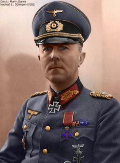 General of the Infantry Martin Gareis.