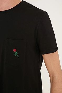 Rose Graphic Pocket Tee #forever21men