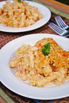 The Kitchen Life of a Navy Wife: Lobster Mac N Cheese