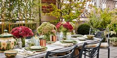 The Perfect Setting For An Alfresco Lunch