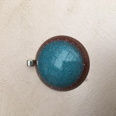 Resin Pendant necklace light weight by ThReAdTeDs on Etsy