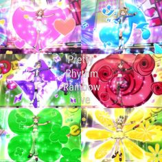 Rainbow Live, Cookie Swirl C, Anime Stories, Rainbow Ribbon, Pretty Star, Dream Land, Anime Love, Anime Girls, Manga