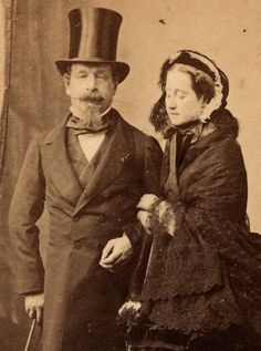 French emperor Napoléon III and his wife Eugenie French History, American History, History Pics, Indian Pictures, Old Pictures, Victorian Photos, Vintage Photos, Mexican Revolution, Falling Kingdoms