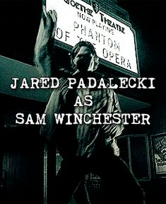 Jared as Sam -- play both Gifs at the same time--too funny :)