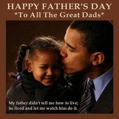 Daddy and Me: President Barack Obama and Sasha Obama