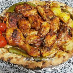 """596 Beğenme, 7 Yorum - Instagram'da @anayemek_tarifleri: """"@arifenin_mutfagi . .  #TARİF 🍗1.5 kilo tavuk kanat 🍗1 çay bardağı yoğurt 🍗Yarim fincan sıvıyağ 🍗1…"""" Chicken Wings, Poultry, Salsa, Meat, Instagram, Food, Essen, Backyard Chickens, Salsa Music"""