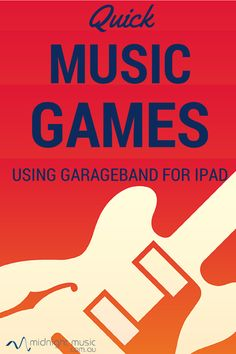 Quick Music Games Using GarageBand for iPad: open the Smart Drums and get started!
