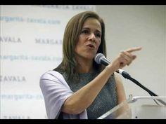 Margarita Zavala una basura Panista que debes repudiar, no darle el Voto