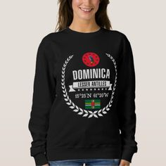 Dominica Sweatshirt -nature diy customize sprecial design