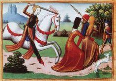Jeanne chasse les prostituées de l'armée,Vigiles du roi Charles VII 63 -