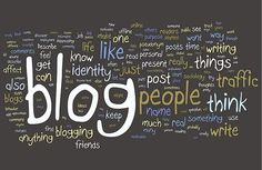 These words describe the impacts of blogging!
