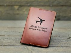 Personalized Passport Covers /Leather Passport Cover /